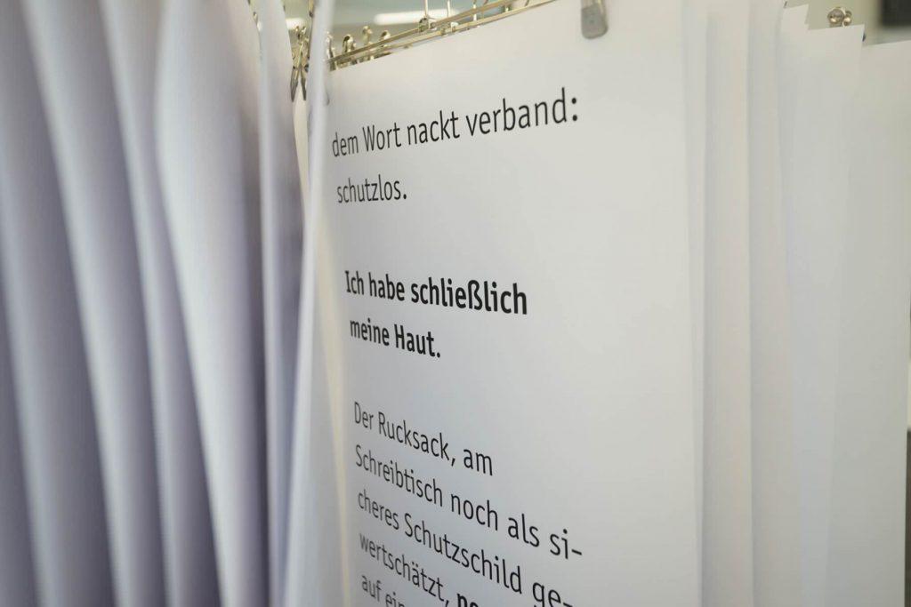 Gemeinschaftsausstellung 20 Quadratmeter in der KulturBäckerei Lüneburg, 2018