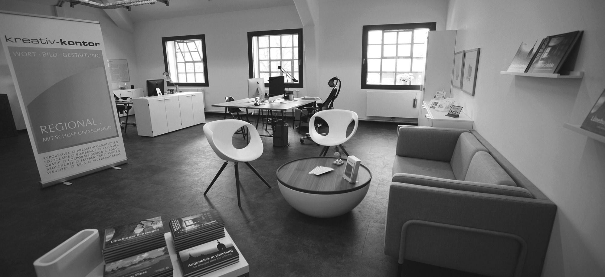 Unser Büro in der Lüneburger KulturBäckerei