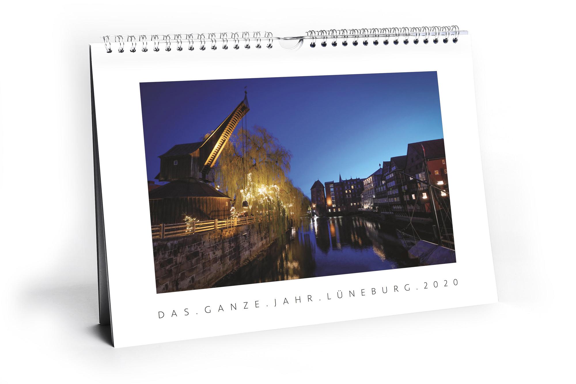 Das ganze Jahr Lüneburg. Wandkalender 2020, erscheint jährlich