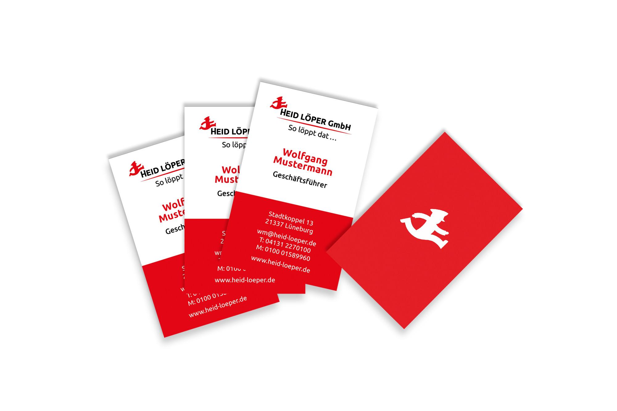 Entwicklung Logo, Geschäftsausstattung, Printanzeigen