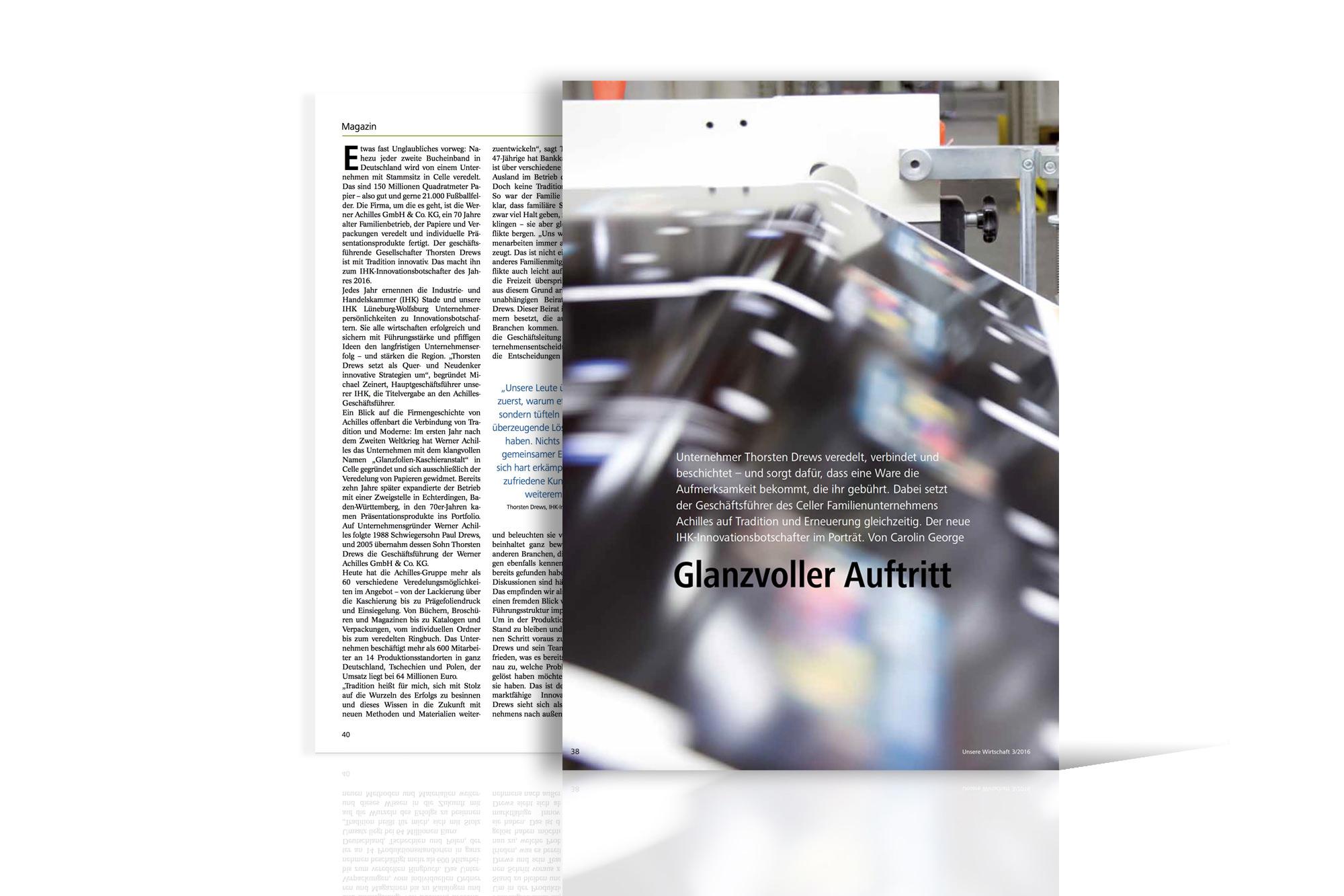 Bericht im IHK-Magazin