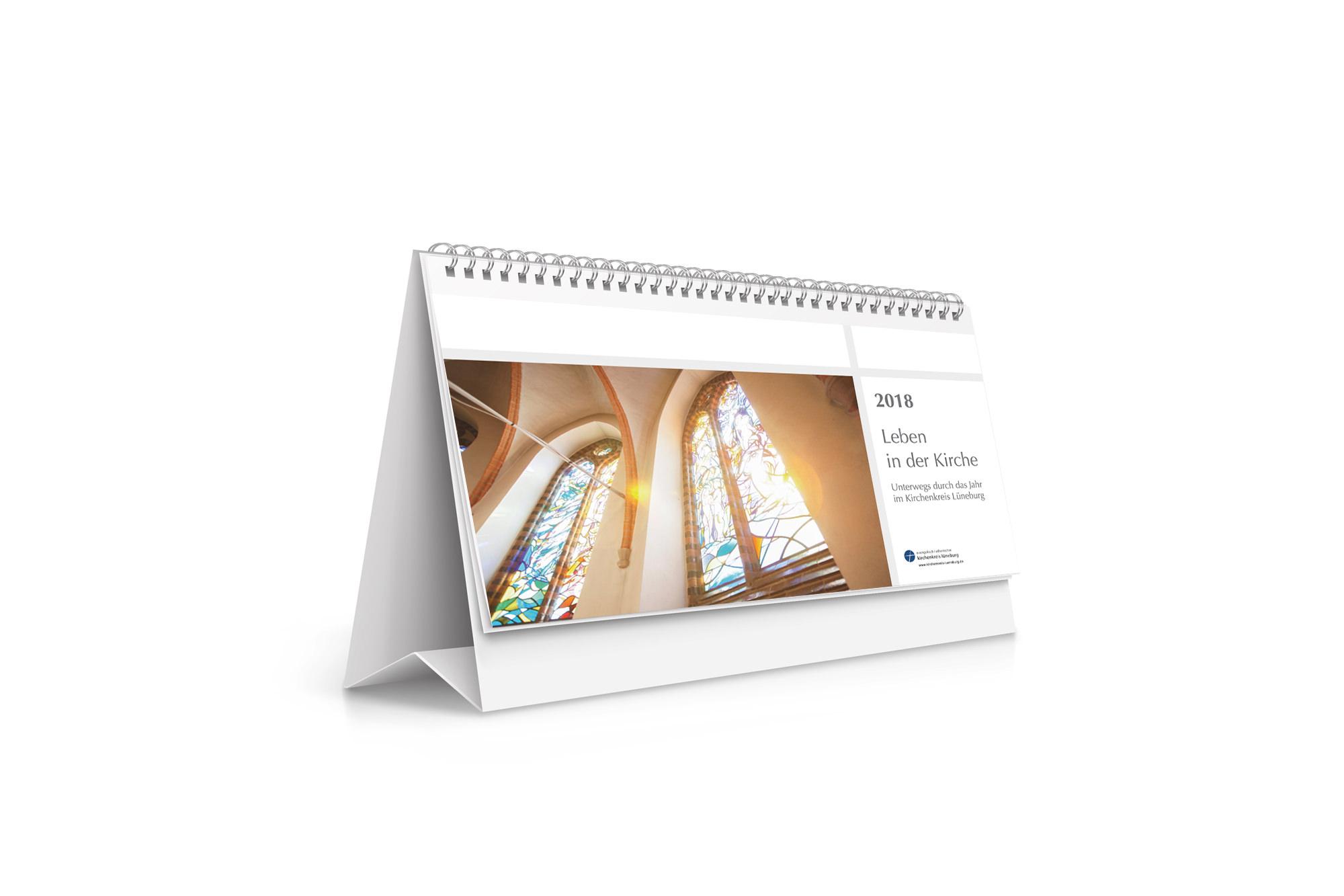 Leben in der Kirche, Tischkalender 2018