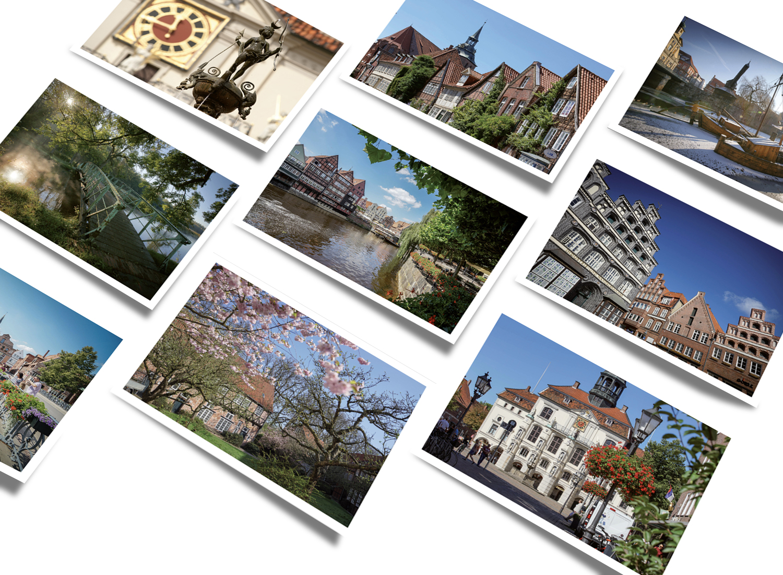 Postkarten Lüneburg Motive